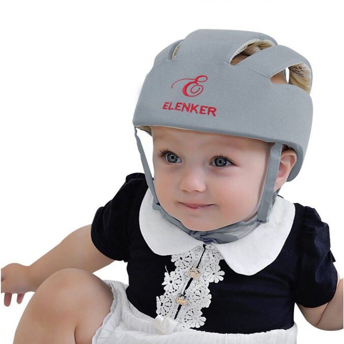 Baby Children Infant Adjustable Safety Helmet Headguard Protective Harnesses Cap